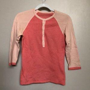 Tops - Cashmere henley shirt